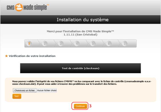 Installation de CMS made Simple