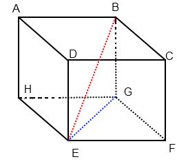 calcul de la longueur du diagonal d'un cube