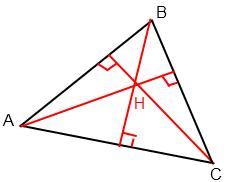 hauteur triangle