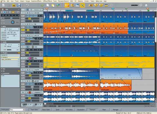 magix samplitude music studio logiciel d enregistrement de la musique. Black Bedroom Furniture Sets. Home Design Ideas